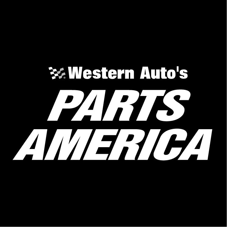 free vector Western autos parts america