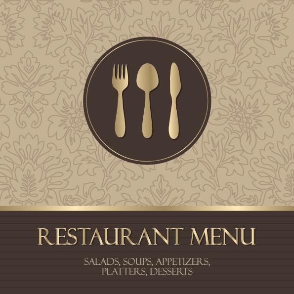 free vector Western menu background 05 vector