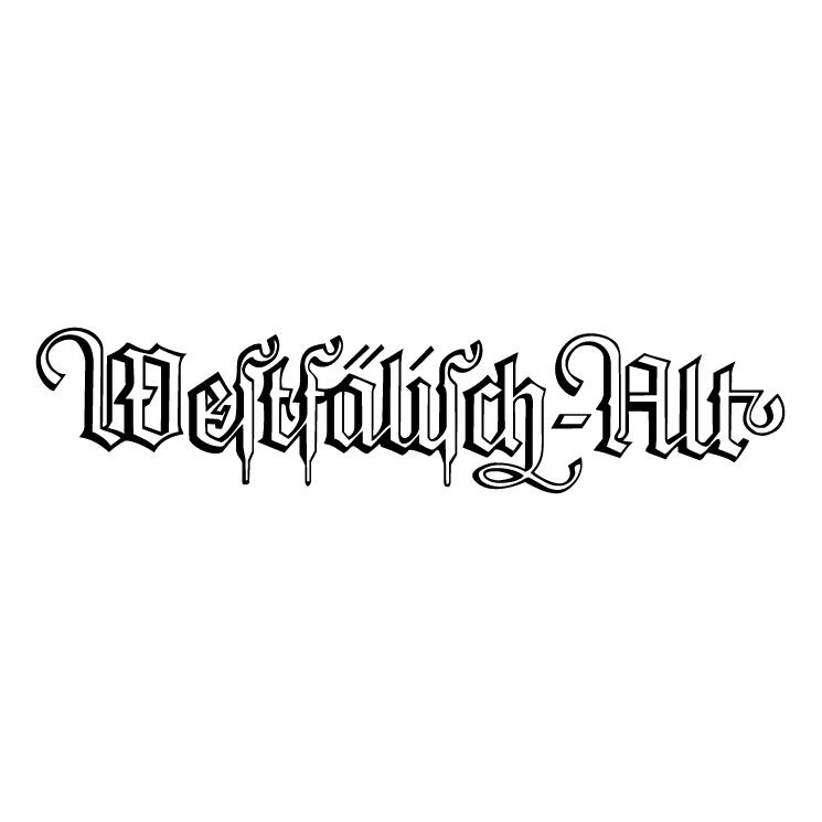 free vector Westfalisch alt