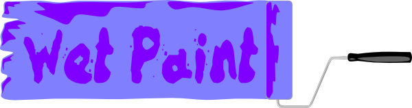 free vector Wet Paint Sign clip art