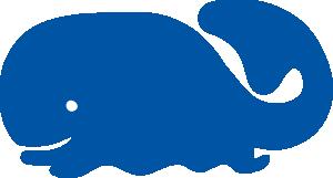 free vector Whale Icon clip art
