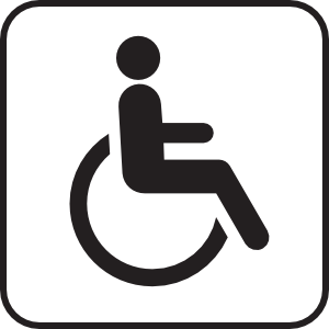 free vector Wheel Chair clip art
