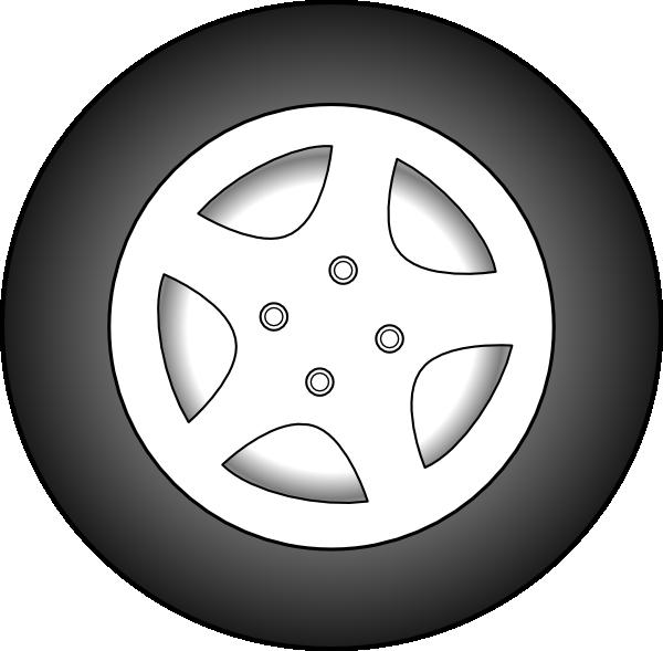 free vector Wheel Chrome Rims clip art
