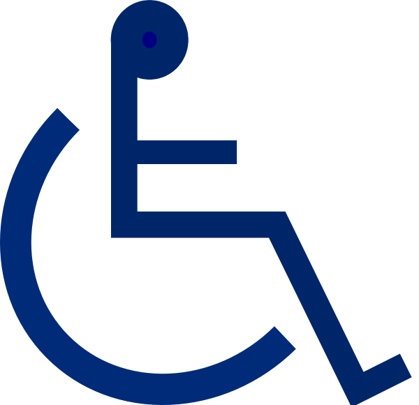 free vector Wheelchair Sign clip art