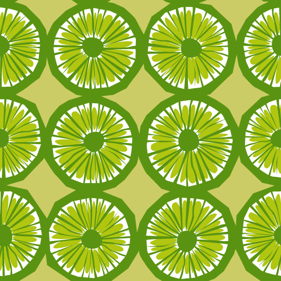 free vector When Life Gives You Limes Pattern