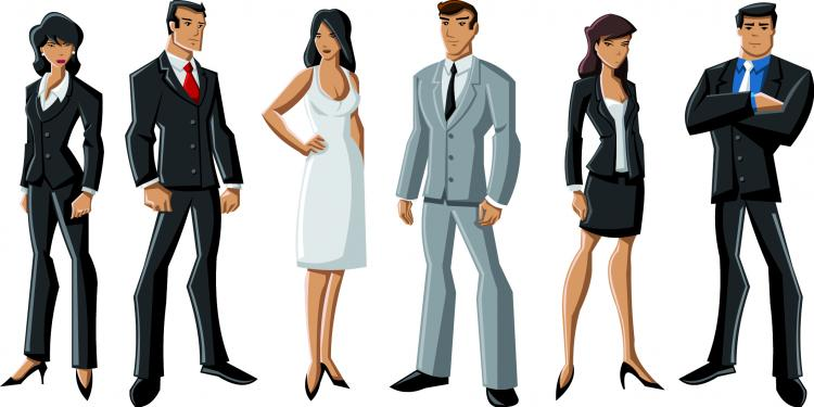 Cartoon Characters Vector : White cartoon characters vector free