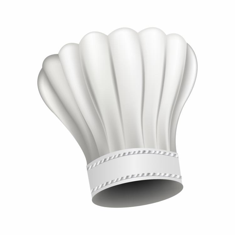 free vector White chef hat