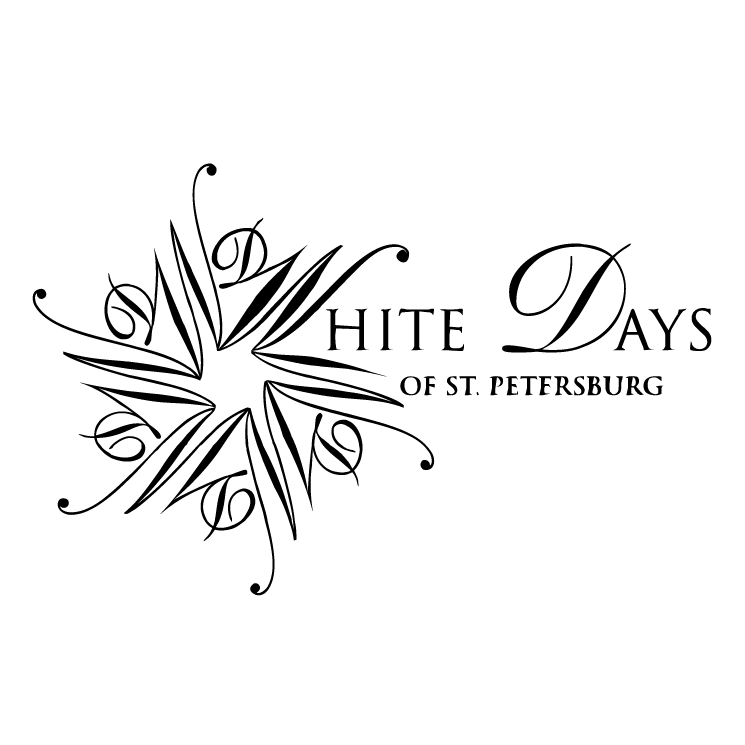 free vector White days