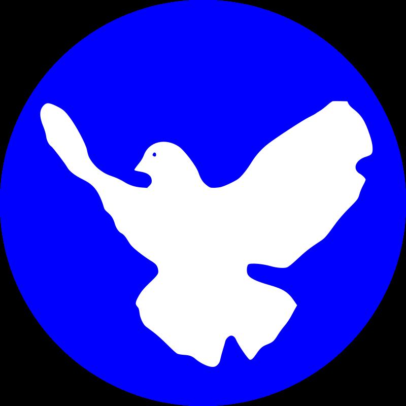 free vector White dove