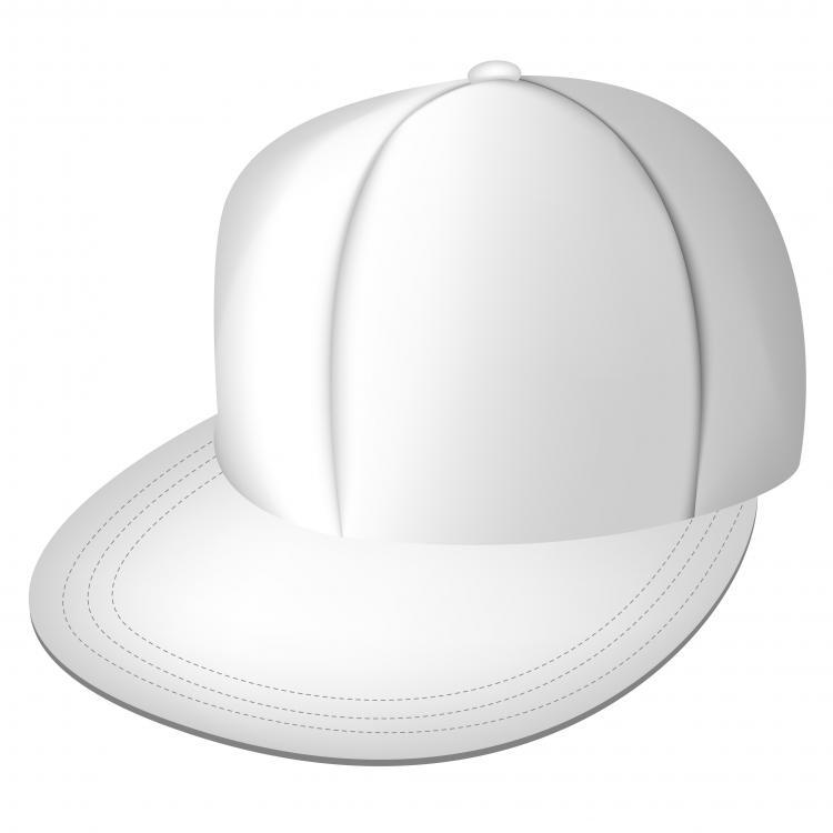 free vector White full cap