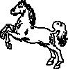 free vector White Horse clip art