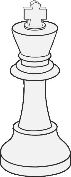 white king chess clip art free vector    4vector