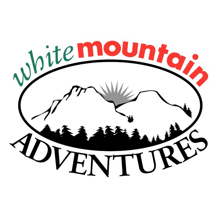free vector White mountain adventures