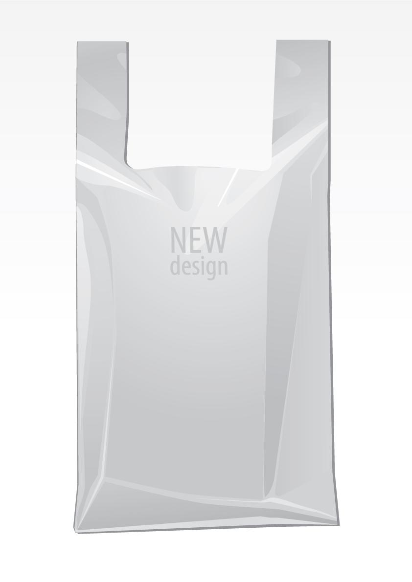 free vector White packing model 03 vector