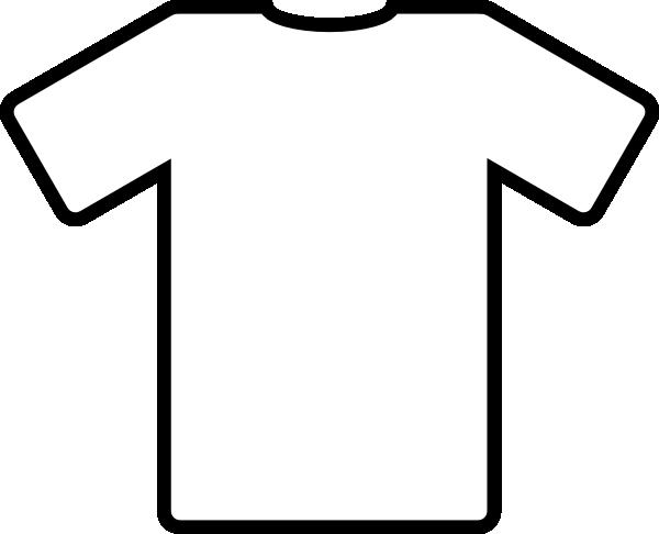 free vector White T Shirt clip art