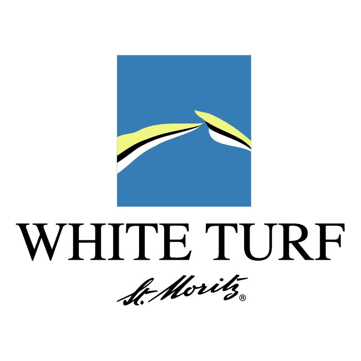 free vector White turf st moritz