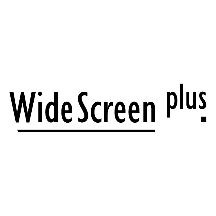 free vector Widescreen plus