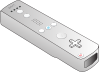 free vector Wii Remote clip art