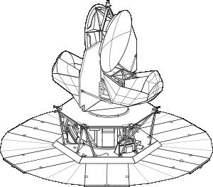 free vector Wilkinson Microwave Anisotropy Probe clip art