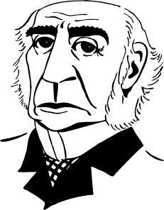 free vector William Gladstone clip art