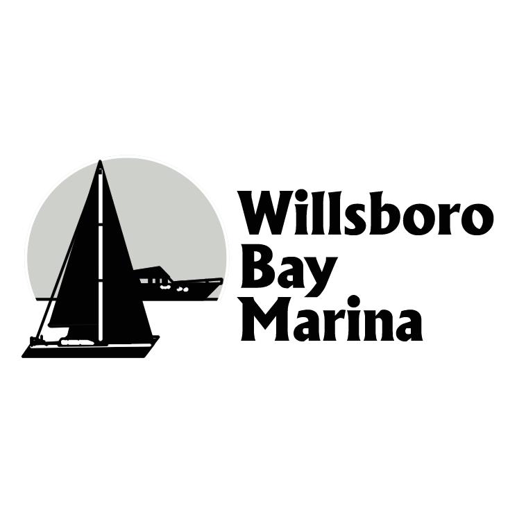 free vector Willsboro bay marina