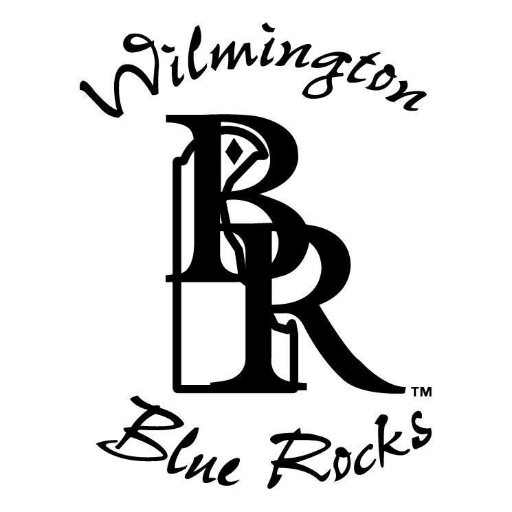 free vector Wilmington blue rocks 0