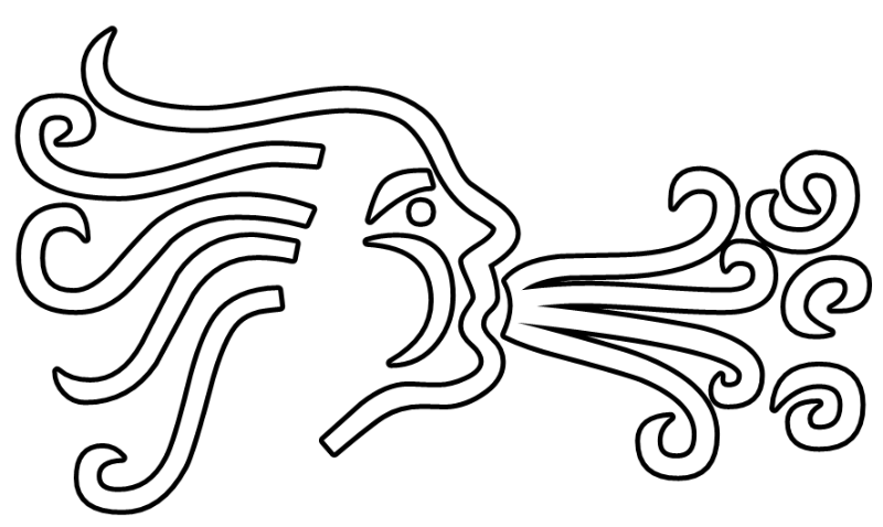 free vector Wind Blowing