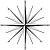 free vector Wind Rose Compass Rose clip art