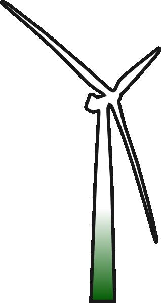 free vector Wind Turbine clip art