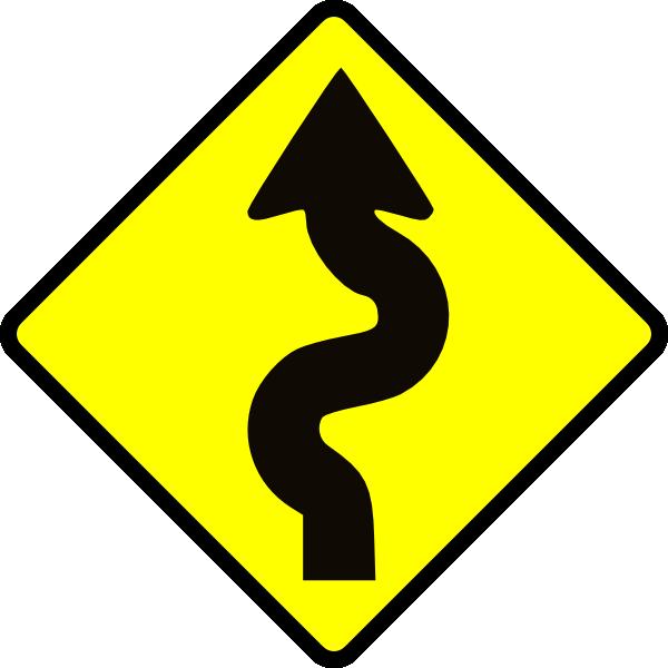 free vector Winding Road clip art