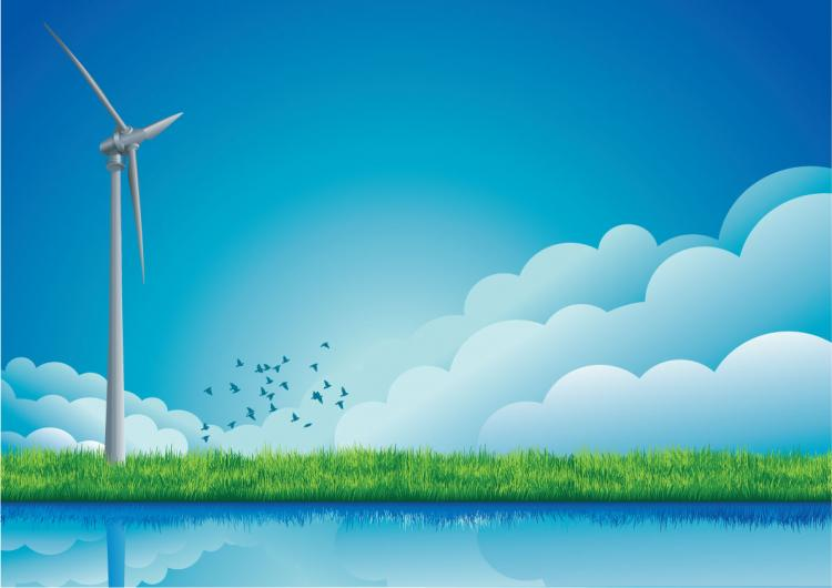 free vector Windmill classic and  modern