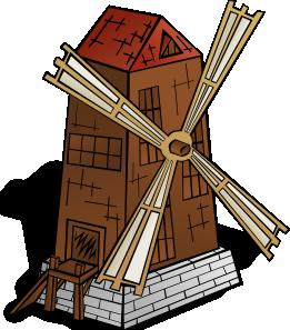 free vector Windmill clip art