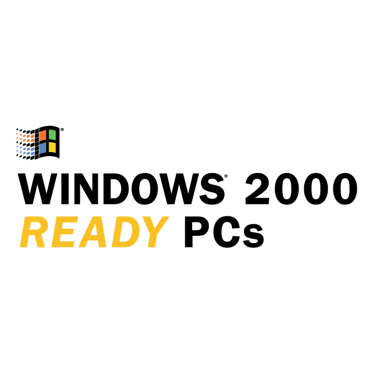 free vector Windows 2000 ready pcs 0