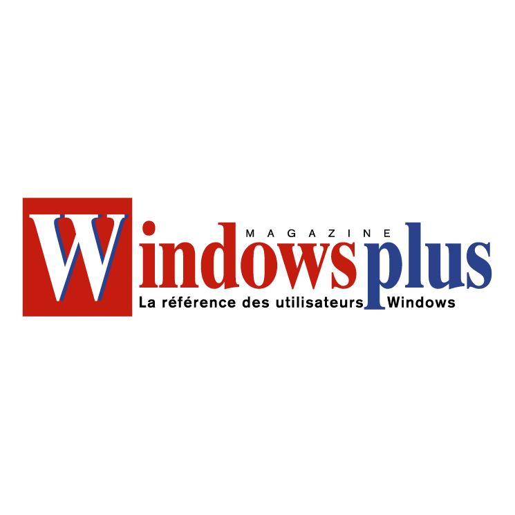 free vector Windows plus