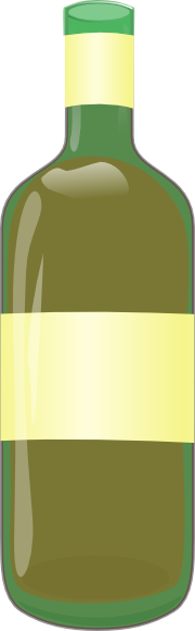 free vector Wine Bottle clip art