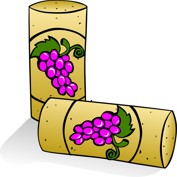 free vector Wine Corks clip art