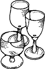 free vector Wine Glasses clip art