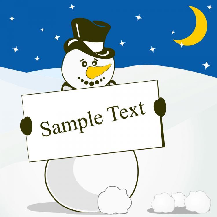 free vector Winter christmas 02 vector