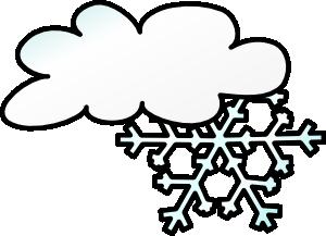 winter cloud snow flake clip art free vector 4vector rh 4vector com free clipart snow free clipart snow white