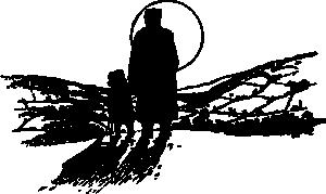 free vector Winter Full Moon clip art