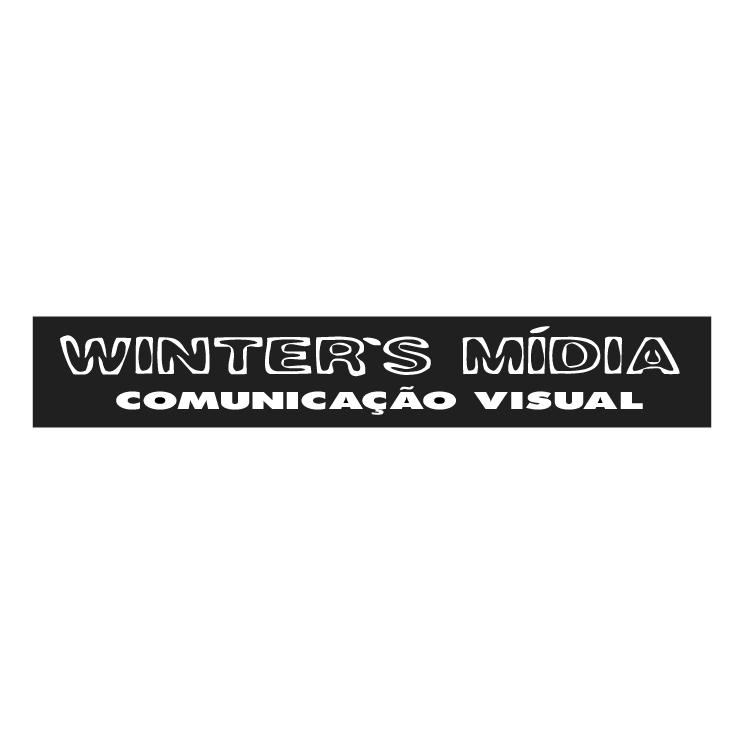 free vector Winters midia