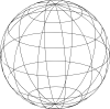 free vector Wire Globe clip art