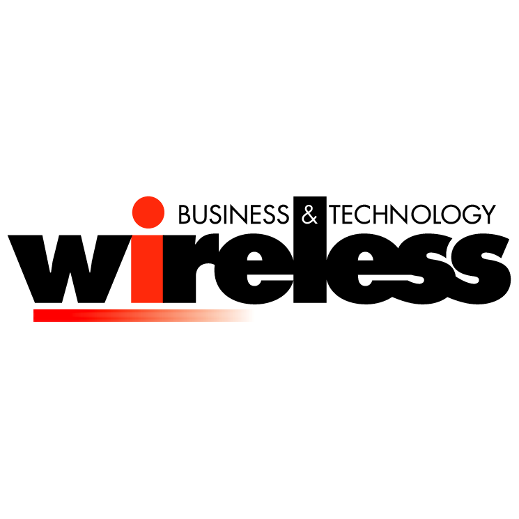 free vector Wireless business technology