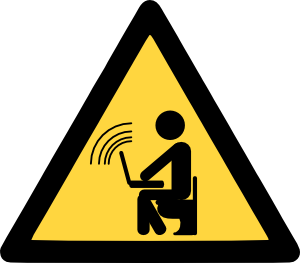 free vector Wireless Wifi Hotspot clip art