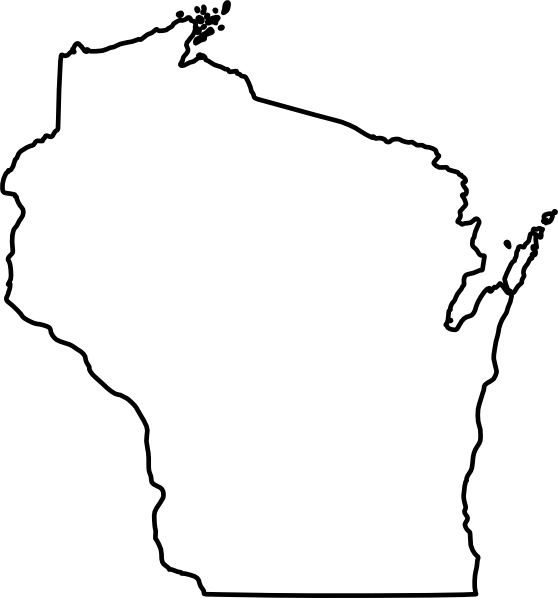 free vector Wisconsin clip art