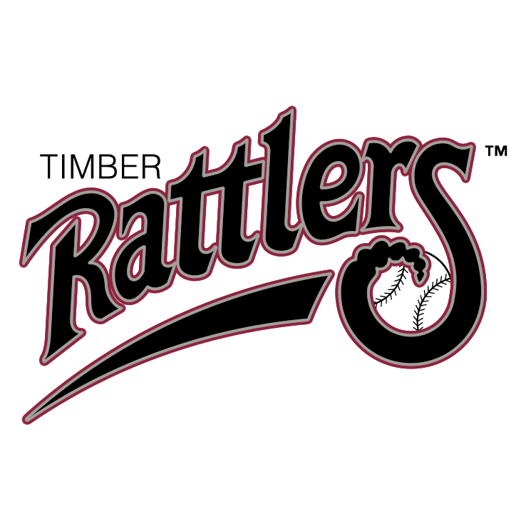 free vector Wisconsin timber rattlers 0