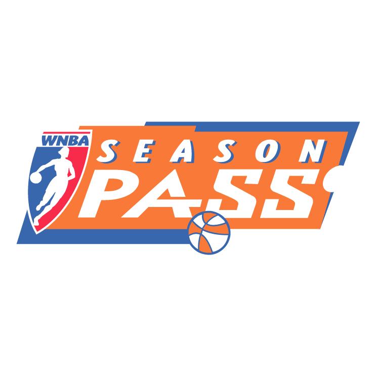 free vector Wnba season pass
