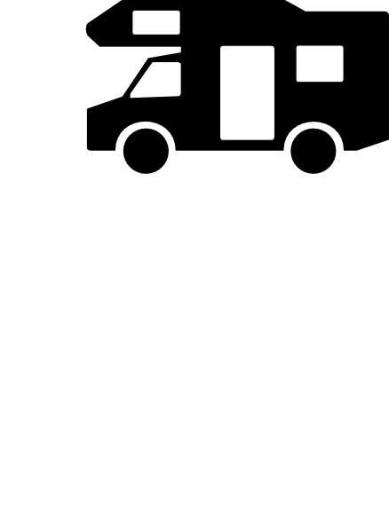 free vector Wohnmobil Aus Zusatzzeichen clip art
