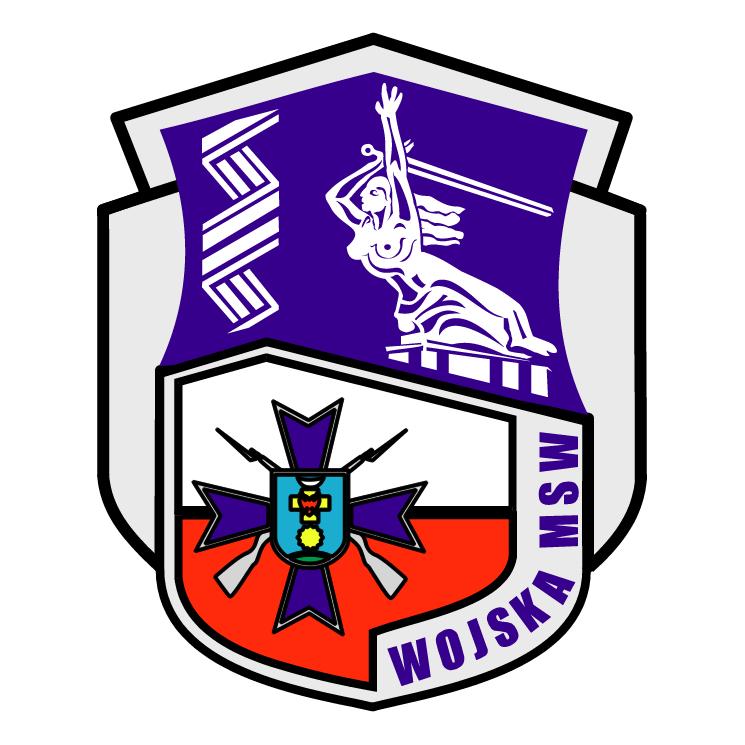 free vector Wojska msw