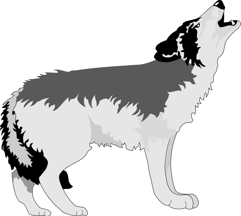 free vector Wolf 2